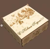 Коробочки с Новогодней тематикой
