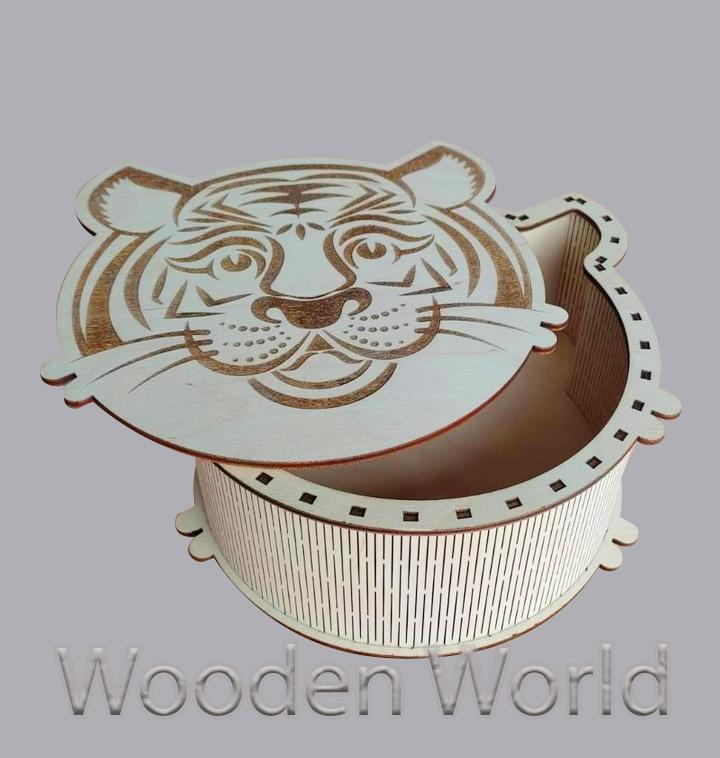 Коробка подарочная Тигр